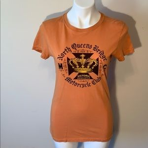 Lucky Brand Motorcycle Club T-Shirt - Women's Med